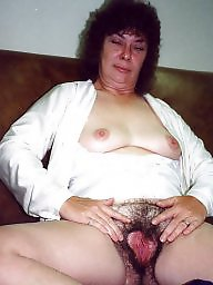 Polaroid, Old mature, Hairy amateur mature, Amateur hairy
