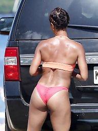 Bikini, Candid