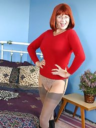 Granny, Nylon, Grannies, Mature legs, Granny nylon, Leggings