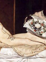 Vintage, Art, Erotic, Voyeur tits