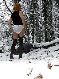 Panties, Woods, Wood, Upskirt panty