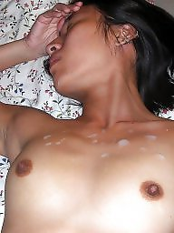 Creampie, Facial, Blowjob, Asian milf, Facials, Asian creampie