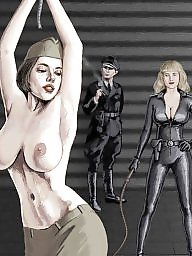 Bdsm cartoon, Bdsm cartoons, Punishment, Punish, Cartoon bdsm, Women