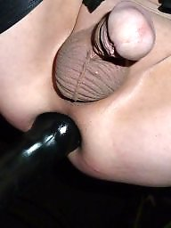 Sissy, Stockings, Asshole, Assholes, Anal toy