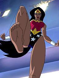 Cartoon, Wonder woman, Womanly