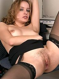 Hairy, Office, Upskirt, Hairy upskirt, Hot, Upskirt stockings