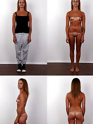 Clothed, Nude, Clothes, Czech