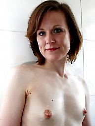 Puffy, Small tits, Mature tits, Small, Puffy nipples, Mature big tits