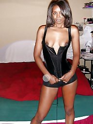 Dress, Dressed, Ups, Ebony milf, Black milf
