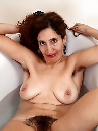 Hairy, Mature hairy, Hairy mature, Bath