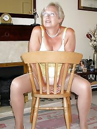 Grandma, Mature stockings, Grandmas, Body, Mature porn, Garter