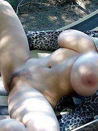 Spreading, Spread, Big amateur tits, Amateur big tits, Spreads
