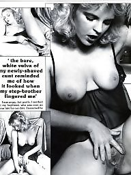 Vintage, Tits, Shaved, Shaving, Magazine, Vintage tits