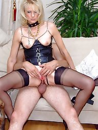 Stockings, Anal mature