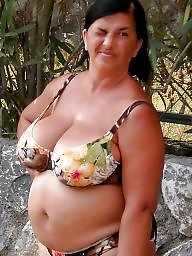 Granny, Mature beach, Sexy granny, Beach mature, Busty mature, Granny beach