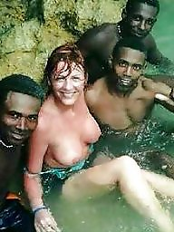 Vacation, Wife interracial, Man, Interracial wife