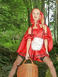 Riding, Teen riding, Red