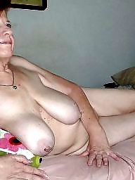 Granny, Slave, Boobs, Mature slave, Granny boobs, Granny bdsm