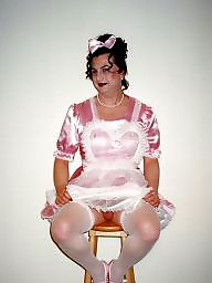 Sissy, Stockings, Maid, Maids, Pink