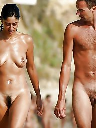 Couple, Nude, Nude beach, Couples