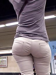 Jeans, Bbw ass, Spanish, Shorts, White, Short