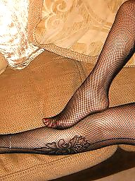 Legs, Milf stockings, Milf amateur