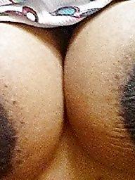 Areola, Ebony bbw, Big nipple