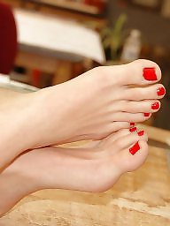Feet, Mature feet, Mature women