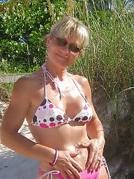 Mature beach, Amateur milf, Sun, Milfs, Beach mature