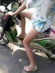 Chinese, Riding, Asian milf, Ride