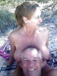 Couples, Beach, Couple, Naturist