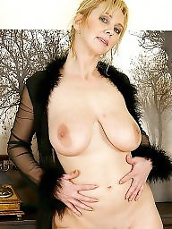 Blonde mature, Big mature