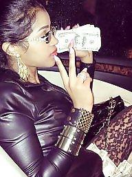 Ebony, Black