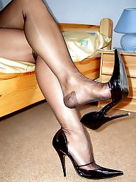 Mature stocking, Nylons, Mature nylon, Nylon mature, Vintage mature, Stockings mature