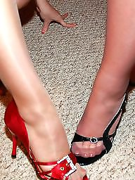 Voyeur, Stocking feet