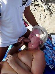 Vacation, Mature beach, Beach, Mature boobs, Beach mature, Mature horny