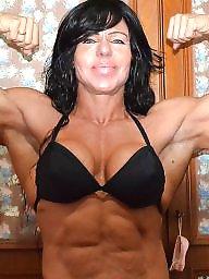 Female, Femdom milf, Bodybuilder