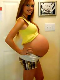 Pregnant, Preggo, Cute, Teen girls, Cute teen