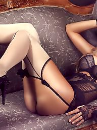 Pantyhose, Spandex, Legs, Legs stockings