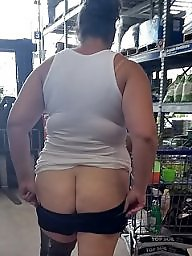 Shopping, Shop, Public flash, Milf flashing