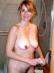Bathroom, Mature wife, Wife mature, Amateur wife