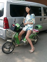 Chinese, Chinese milf, Riding, Asian milf