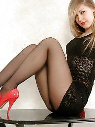 Heels, High heels, Stockings heels, Tight, Tights, High
