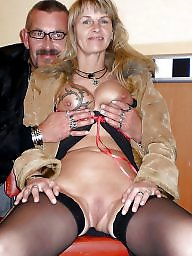 Shaved, Wedding, Swinger, Swingers, Mature swingers, Wedding ring