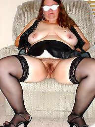 Spreading, Spread, Hairy bbw, Nylon, Bbw spread, Bbw hairy