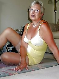 Grandma, Mature stockings, Mature porn, Body