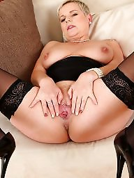 Mature in stockings, Stocking mature