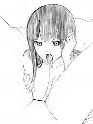 Cartoon, Manga, Lesbians, Lesbian cartoons, Lesbian cartoon