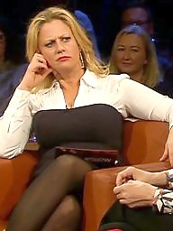 Legs, German, Leggings, Face, Milf legs, Faces