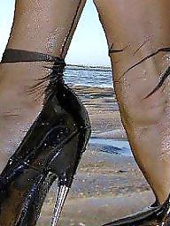 Heels, High heels, Stockings heels, High